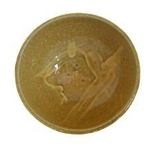 Tang Dynasty Style Amber Glazed Bowl - Splash Decoration - China - 20th Century