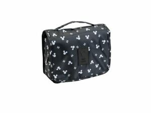 Mickey Mouse Hanging Travel Organizer Pouch Makeup Toiletry Case Storage Bag