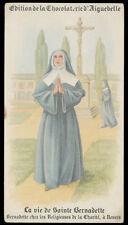 santino-holy card AIGUEBELLE-VITA DI S.BERNADETTE SOUBIROUS 6