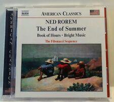 Rorem: The End of Summer (CD, Feb-2003, Naxos (Distributor)) (cd7121)