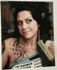 Danielle Colby Cushman Signed Dannie Diesel Autograph Pickers Burlesque