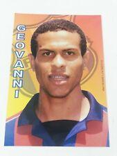 POSTAL GEOVANNI DEIBERSON FC BARCELONA 2001-2002 FOOTBALL POSTCARD BARÇA BRASIL