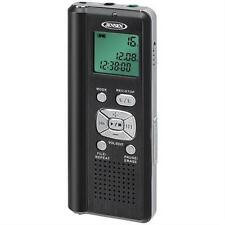 JENSEN DR-115 4GB Digital Voice Recorder with microSD(TM) Card Slot