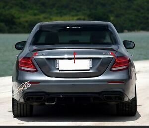 Carbon Fiber Trunk Spoiler Wing E63 Style For 17-21 Mercedes Benz E-Class W213