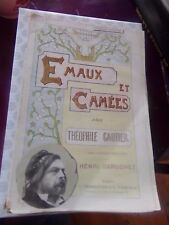 EMAUX ET CAMEES - THEOPHILE GAUTIER - 1895 - COLLECTION POLYCHROME