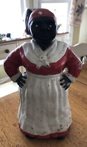 Vintage Collectible Cast Iron Bank