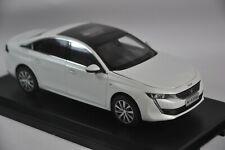 Peugeot 508L 2019 car model in scale 1:18 White