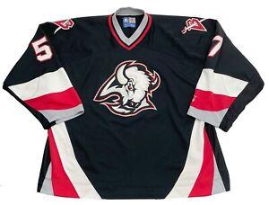 Vintage Buffalo Sabres Starter Sewn Goat Head NHL Hockey Jersey Men's 2XL XXL