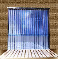 PVC Strip Curtain / Door Strip 2,50mtr w x 2,75mt long