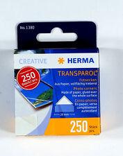Herma Transparol 20mm Photo Corners 250 pieces - (H1380)