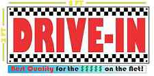 DRIVE-IN All Weather Banner Sign Breakfast Lunch & Dinner 50's Resturant Diner