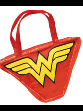 Official DC comics Wonder Woman satin bag fancy dress 9x7x2 inches new with tags