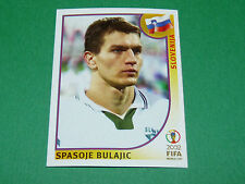 N°122 BULAJIC SLOVENIJA PANINI FOOTBALL JAPAN KOREA 2002 COUPE MONDE FIFA WC