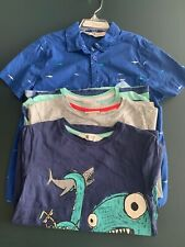 H&M boys shirts lot of 4 size 6-8 shark