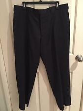 Pierre Cardin Mens Avignon charcoal trousers 100% wool Size 108