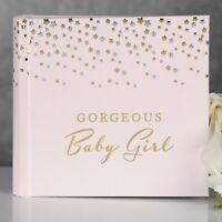 Bambino Litte Stars Photo Album Baby Girl  Gift Idea