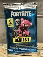 2019 Panini FORTNITE Trading Cards-6 Cards Per Pack-Booster Packs PLUS 2 BONUS