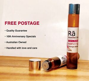 RA Essential Oil BLENDS 100% PURE •10ml+30ml • FREE POSTAGE • Aromatherapy Grade