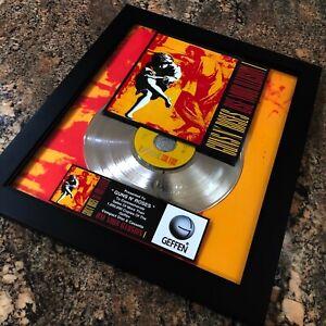 Guns N' Roses Use Your Illusion I Million Record Sales Music Award Disc LP Vinyl