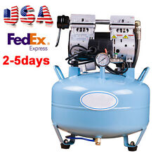 Silent Noiseless Oil Free Oilless Dental Air Compressor 30L 550W 130L/min Chair
