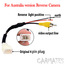 reverse car audio video wire harnesses ebay rh ebay com au Car Wiring Diagram Camera Ford Backup Camera Wiring Diagram
