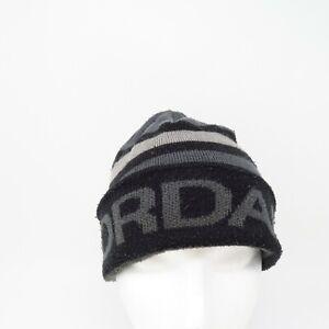 Nike Air Jordan Men's Black/Grey, Winter, Cuffed, Stocking, Beanie, Hat Cap