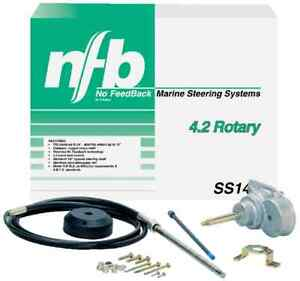 Teleflex SS148 15` Nfb 4.2 Rotary Steering System With Dual Ssc61 Cables 8734