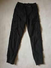 H&M ● size 14 15 years● boys black cargo trousers