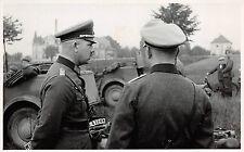 Offizier am Kübelwagen Glauchau Sachsen