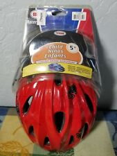 NEW Bell Child Racer Red w/ Blk Spiders 5+ Smart Fit Kids Bike Safety Helmet