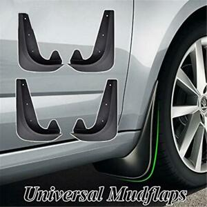 4x Universal Car Accessories Front Rear Mud Flap Flaps Splash Guard Mudguards