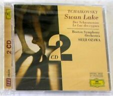 TCHAIKOVSKY P.I. - SWAN LAKE, LE LAC DES CYGNES - OZAWA - 2 CD Sigillato