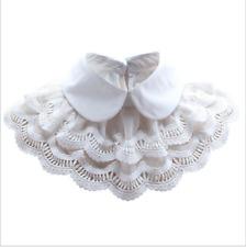 Women Detachable Collar Fake Cape Shawl Collar Blouse Shirt Choker Two Layer