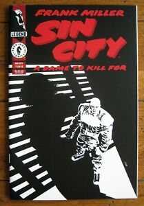 MINT!! - SIN CITY: A DAME TO KILL FOR #1, DARK HORSE, 1993, 1st printing
