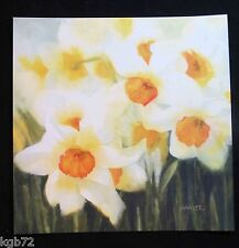 Leanin Tree Easter Greeting Card Flowers Floral Daffodil Multi Color E27