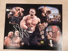 "JOHN CENA AUTOGRAPHED 16 x 20 PHOTO WWE W/PROOF ""LOOK"""