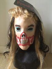 SISSY Mask taille M une grande bouche Fancy Dress PVC Femme Masque Latex Female Mask