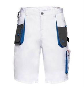 Professional Painters Decorators White Work Shorts Trousers