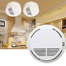 Fire Smoke Sensor Detector Alarm Tester Home Security System Cordless #@#BG
