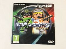 Playmobil Top Agents 2011-12 DVD-ROM for PC/MAC - Brand New Sealed