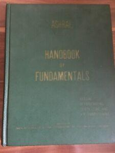ASHRAE HANDBOOK FUNDAMENTALS  1967