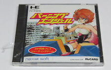 Burning Angels PC Engine HuCard Duo-RX Japan Angel Naxat Soft * Brand NEW Sealed