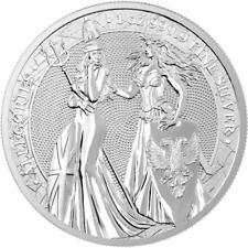 Germania 2019 5 Mark The Allegories Britannia and Germania 1 Oz Silver BU