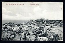 Bermuda St. Georges 'Catherine Point', good used postcard with stamp (C11)