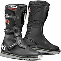 Sidi Courier Microfibre Adventure ADV Touring Motorcycle Boots Boot Black sizes