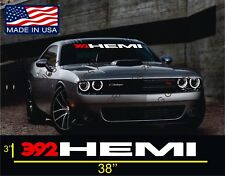 392 hemi windshield  Vinyl Decal Stickers Dodge Charger Challenger SRT