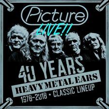PICTURE - Live / 40 Years Heavy Metal Ears / 1978/2018 (NEW*80's HEAVY METAL)