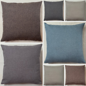 Handmade Sierra Linen Look Like Cushion Cover Pillow Case Home Sofa Bed Decor