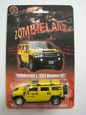 Zombieland Movie Tallahassee Yellow 2003 Hummer H2 Earnhardt Hot Wheels Custom