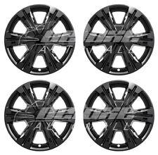 "18"" Black Wheel Skins Hubcaps (4 PCS) FOR 2016 2017 GMC Terrain SL / SLE / SLT"
